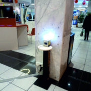 recharge point remass e nos al centro commerciale il gigante
